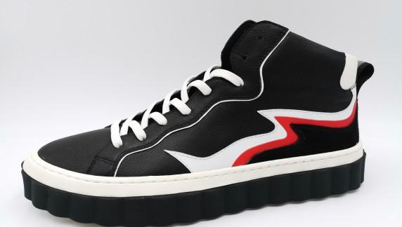 BO192001 black/white/red