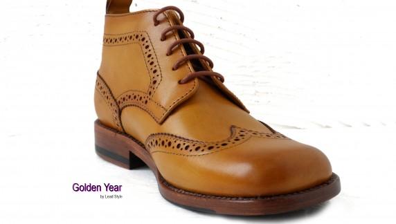 纯手工打造皮鞋